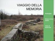 Viaggio della Memoria - Provincia di Milano