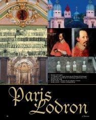 Paris Lodron - Riviste