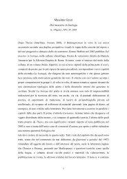 Massimo Gezzi 2003, Pagine - Franco Buffoni