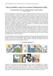 Libri che parlano di immigrazione marzo 2011-2.pdf - Editrice Vannini