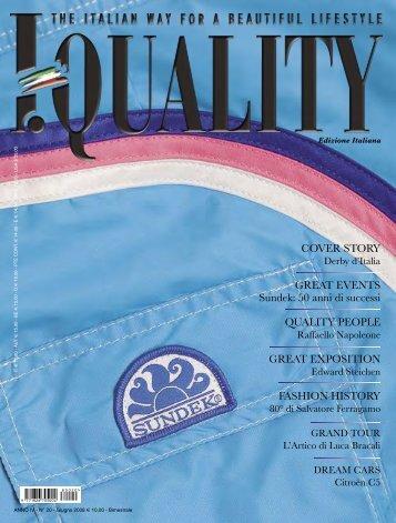 COVER STORY GREAT EVENTS Sundek: 50 anni di ... - Luca Bracali