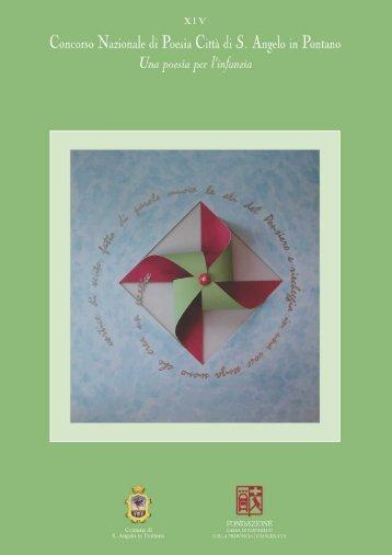 Edizione XIV - Anno 2002 [2] - Una poesia per l'infanzia