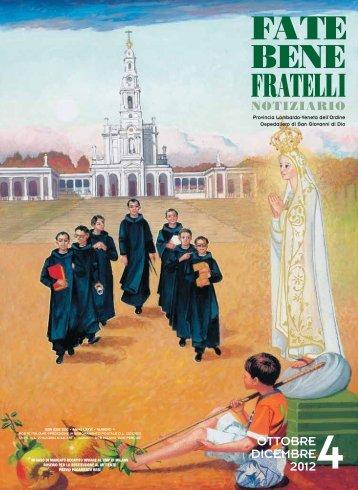 n. 4 Ottobre-Dicembre 2012 - Fatebenefratelli