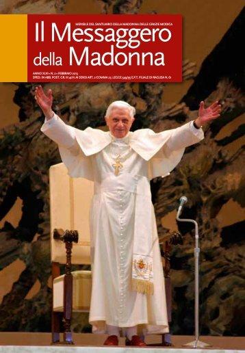 Febbraio 2013 - Santuario Madonna delle Grazie