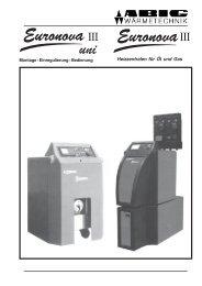 Euronova III - ABIC Brennertechnik GmbH