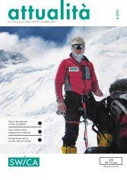 La rivista per gli affiliati SWICA, novembre 2011