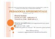 UniCa Pedagogia Sperimentale, A.A.2008-2009 Dispense II ...