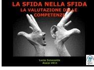 La Valutazione - Lucia Innocente - Ufficio Scolastico Regionale per l ...