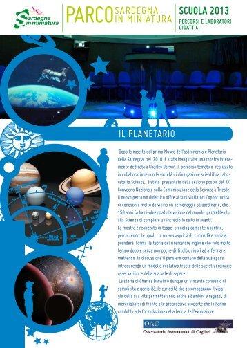 Planetario e Museo dell'Astronomia - Sardegna in miniatura