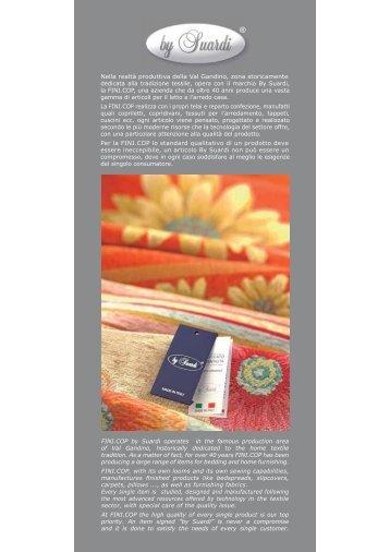 Scarica il catalogo completo (3,7 Mb) - Fini.cop - by Suardy