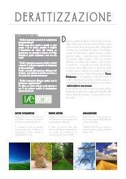DERATTIZZAZIONE - ISE Italiana Servizi Ecologici Srl