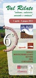 Val Rilate - Comuni in Rete