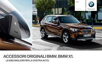 ACCESSORI ORIGINALI BMW. BMW X1. - Nanni Nember