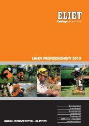LINEA PROFESSIONISTI 2011 - Sabreitalia.biz