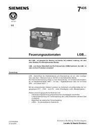 7435 Feuerungsautomaten LGB... - ABIC Brennertechnik GmbH