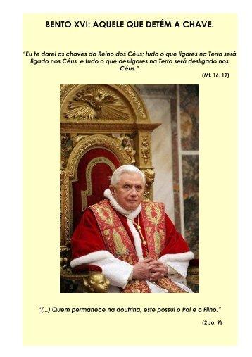 Apostila - Bento XVI - Maria Mãe da Igreja