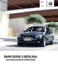 Prezzi della BMW Serie 5 Berlina