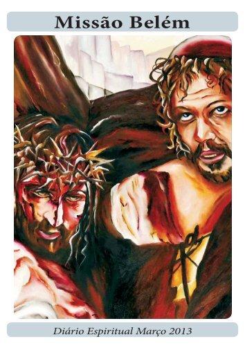 Diario Espiritual Março 2013 - Missione Belem