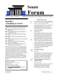Volume XX, Number 2, Spring 2005 - California State University ...