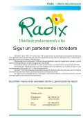 descarca oferta Radix - Radix Plant - Page 3