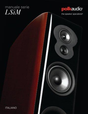manuale serie - Polk Audio
