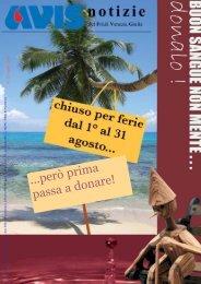 ...però prima passa a donare! - Avis Regionale Friuli Venezia Giulia
