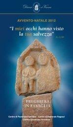 libretto avvento 2012 preghiera in famiglia.pdf - Qumran