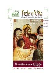 2008 03. Fede e Vita - giugno - Parrocchia S. Stefano di Osnago