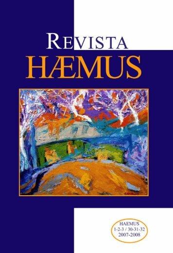 Revista Haemus nr. 30-32 - Libraria pentru toti