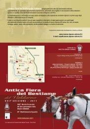 XXIIa EDIZIONE - 2011 - Comune di Rignano sull'Arno