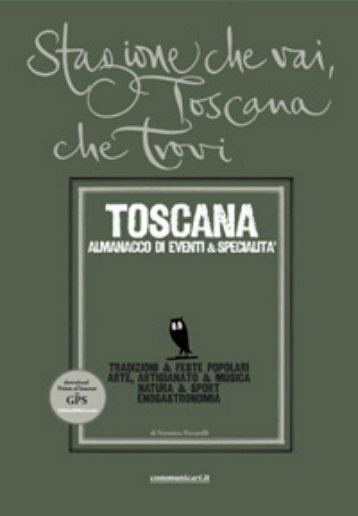 Clicca qui per una preview della guida della Toscana - Communicart