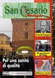 SanCesario notizie Dicembre 2011 - Comune di San Cesario sul ...
