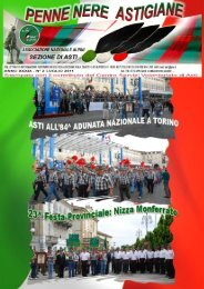 Penne Nere Astigiane N°2 Luglio 2011 - Associazione Nazionale ...