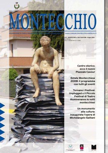Notiziario Giugno 2008 - Comune di Montecchio Emilia