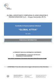 Fascicolo Informativo - Global Assicurazioni