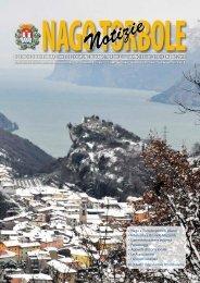 Notiziario comunale dicembre 2011 - Comune di Nago Torbole