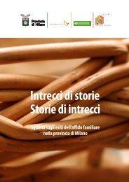 Scarica la pubblicazione - Provincia di Milano