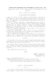 Decreto del Presidente della Repubblica 20 ottobre 1962, n ... - WIPO