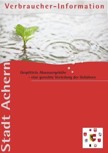 Allgemein - Stadt Achern
