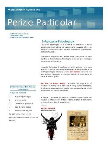 3° Incontro (PDF) - marisa aloia