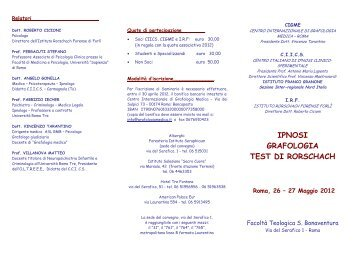 Grafologia o grafologie - Test di rorschach tavola 1 ...