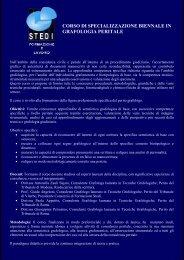 corso di specializzazione biennale in grafologia ... - Istituto Meme S.r.l.