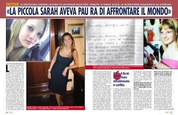 Quella di Sarah è la scrittura dell'adolescente in conflitto - grafologia