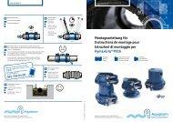 Montageanleitung für Instructions de montage pour ... - Aquaform AG