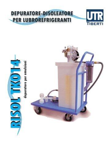 depuratore-disoleatore per lubrorefrigeranti ... - Catalogo - Utr