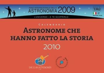 Astronome che hanno fatto la storia