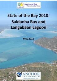 State of the Bay Report 2010-Final - Anchor Environmental