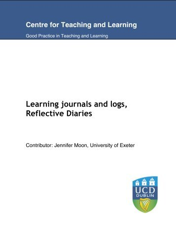 Learning journals and logs, Reflective Diaries - Deakin University