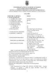 fitopatologia - Facultad de Ciencias Biológicas - Universidad ...