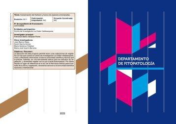 DEPARTAMENTO DE FITOPATOLOGÍA - Finca La Orden ...